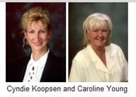 Cyndie Koopsen and Caroline Young