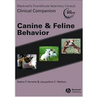 Blackwell's Five Minute Veterinary Consult Clinical Companion Canine & Feline Behavior with CD