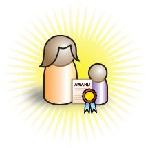 Pepe receiving an award