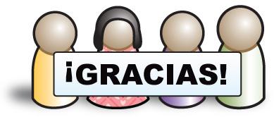 Jesus, Beatriz, Pepe, and Diego say thanks